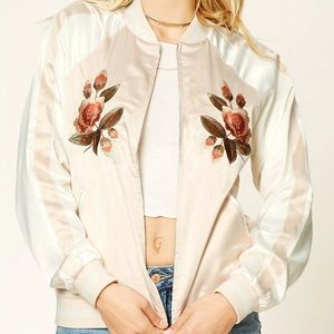 [NEW] Forever 21 Contemporary Embroidered Jacket